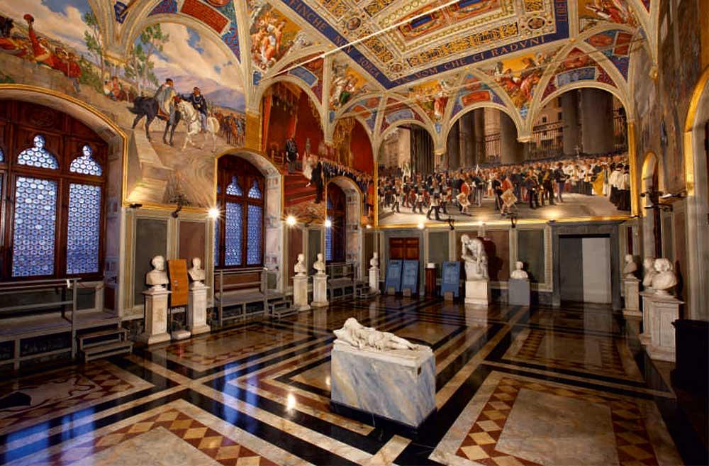 Sala Del Consiglio Dei Nove Siena.Scheda Turismo Con Gusto