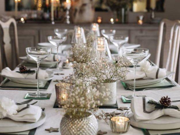 Come apparecchiare la tavola per il cenone di capodanno - Decorazioni per capodanno fai da te ...